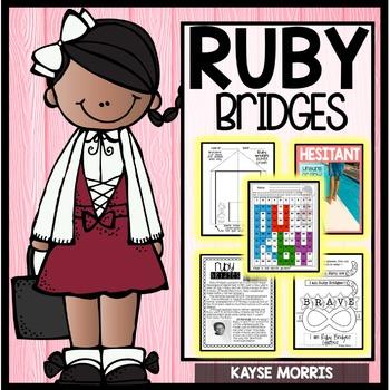 350x350 Ruby Bridges Women's History Month By Kayse Morris