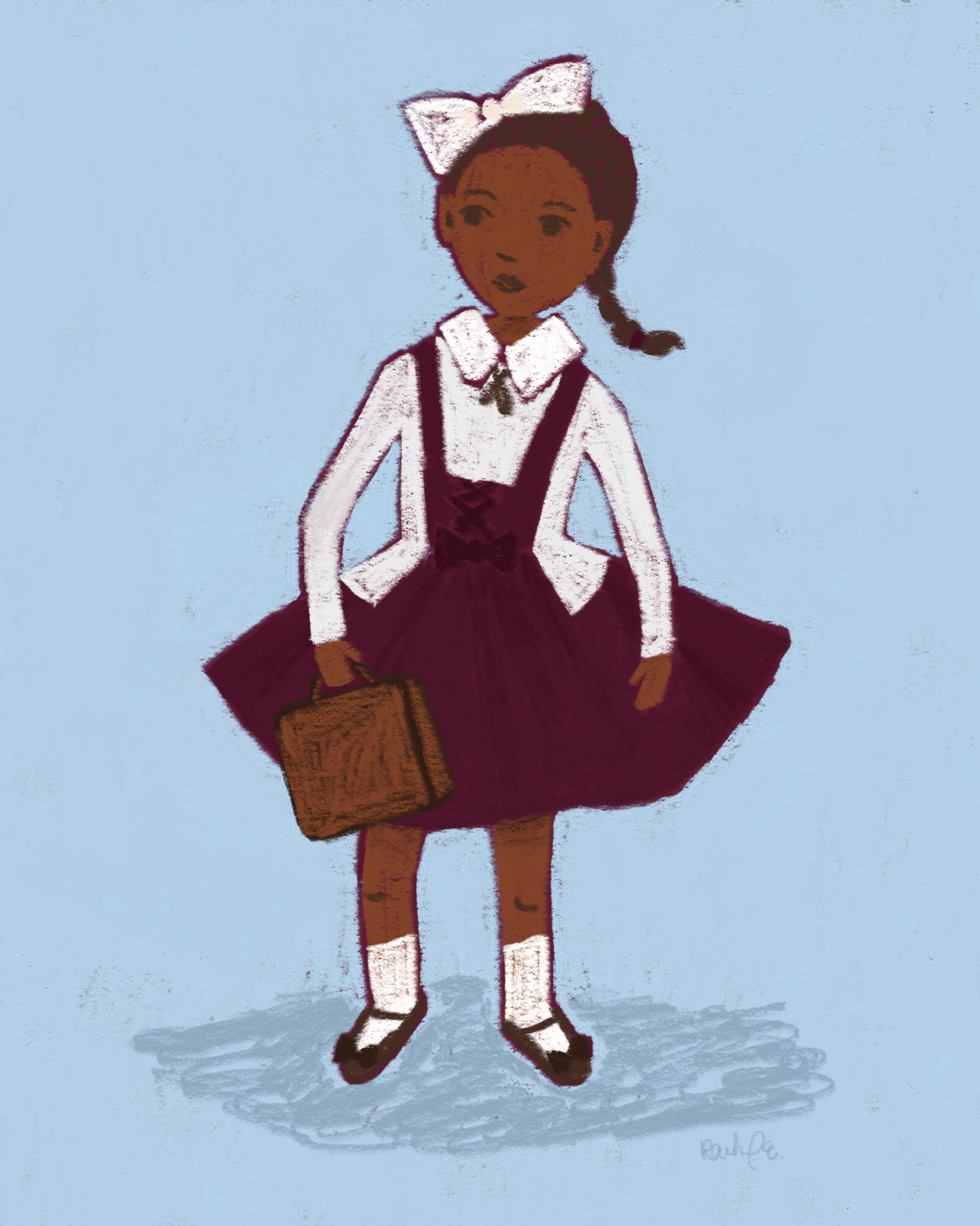 2400x3000 free print + challenge  sc 1 st  GetDrawings.com & Ruby Bridges Drawing at GetDrawings.com | Free for personal use Ruby ...