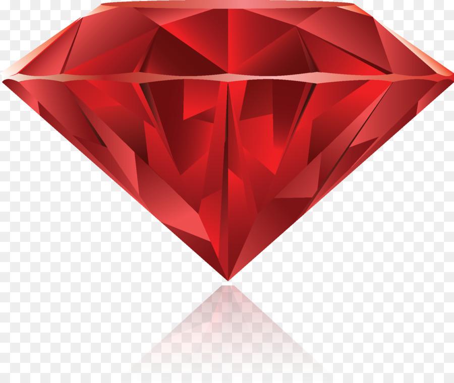 900x760 Gemstone Ruby Diamond Drawing