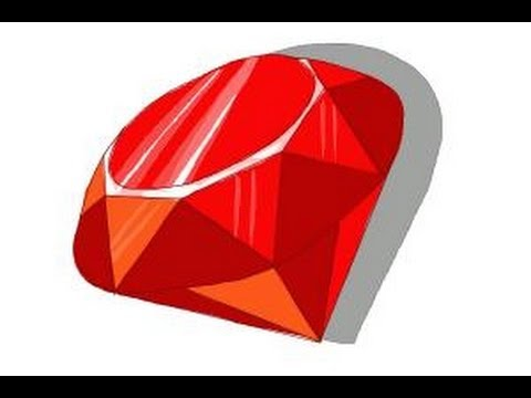 480x360 How To Draw A Ruby