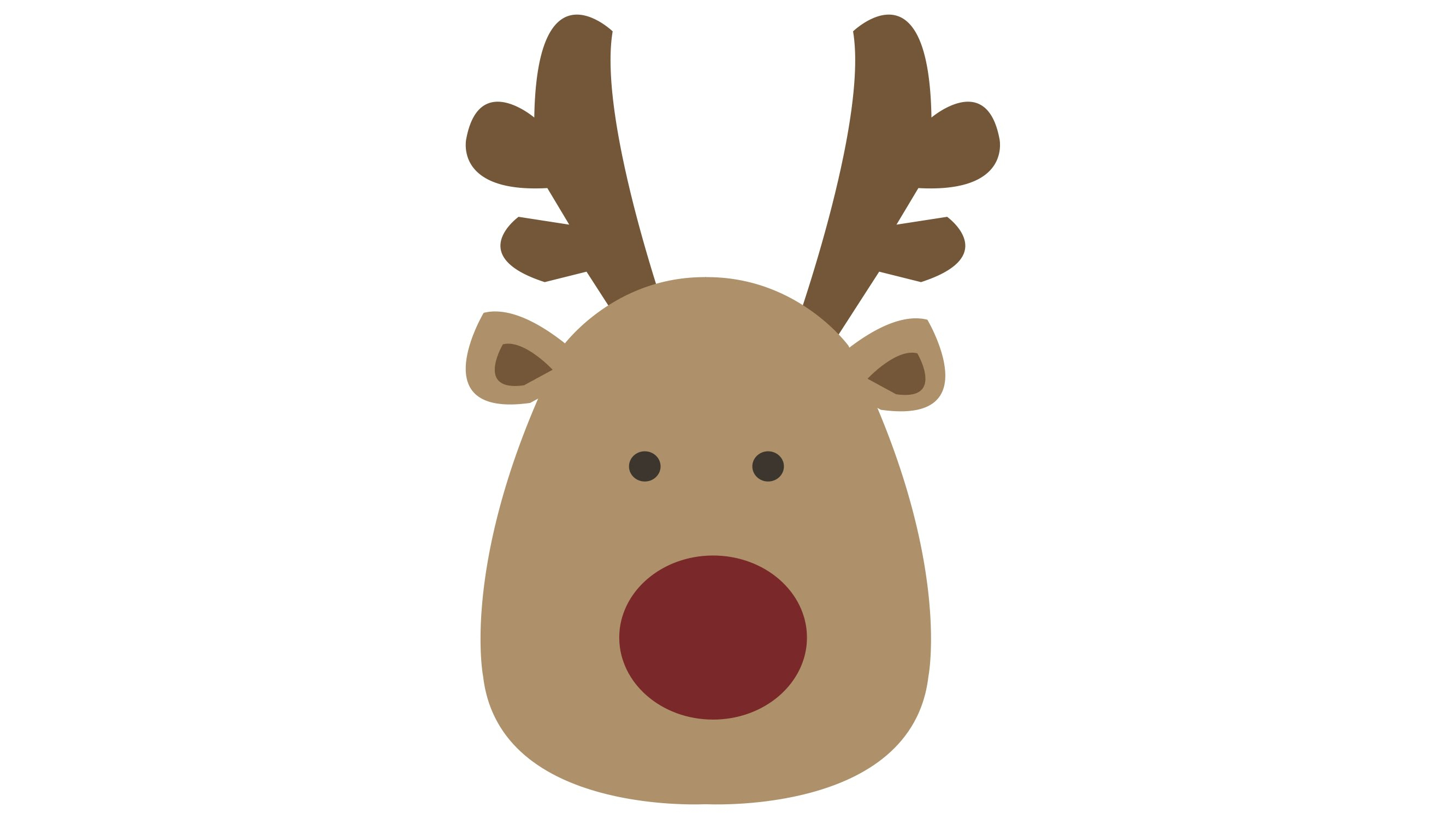 2666x1500 Pics Of Reindeer Drawing How To Draw Rudolph The Red Nosed
