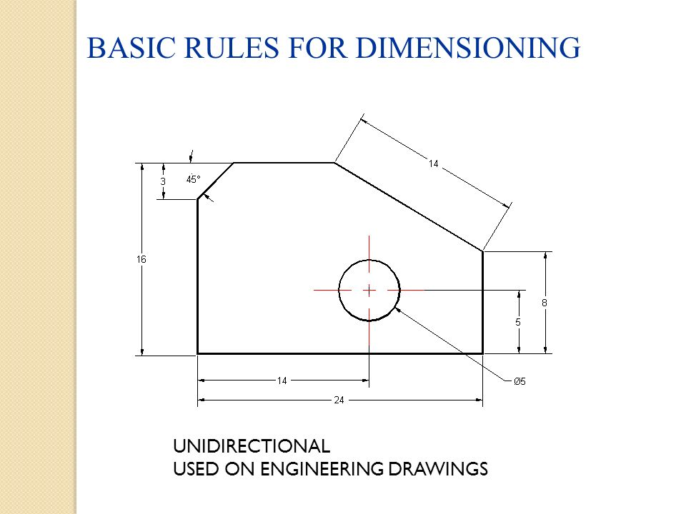 960x720 Engineering Drawing And Design Chapter 10 Basic Dimensioning