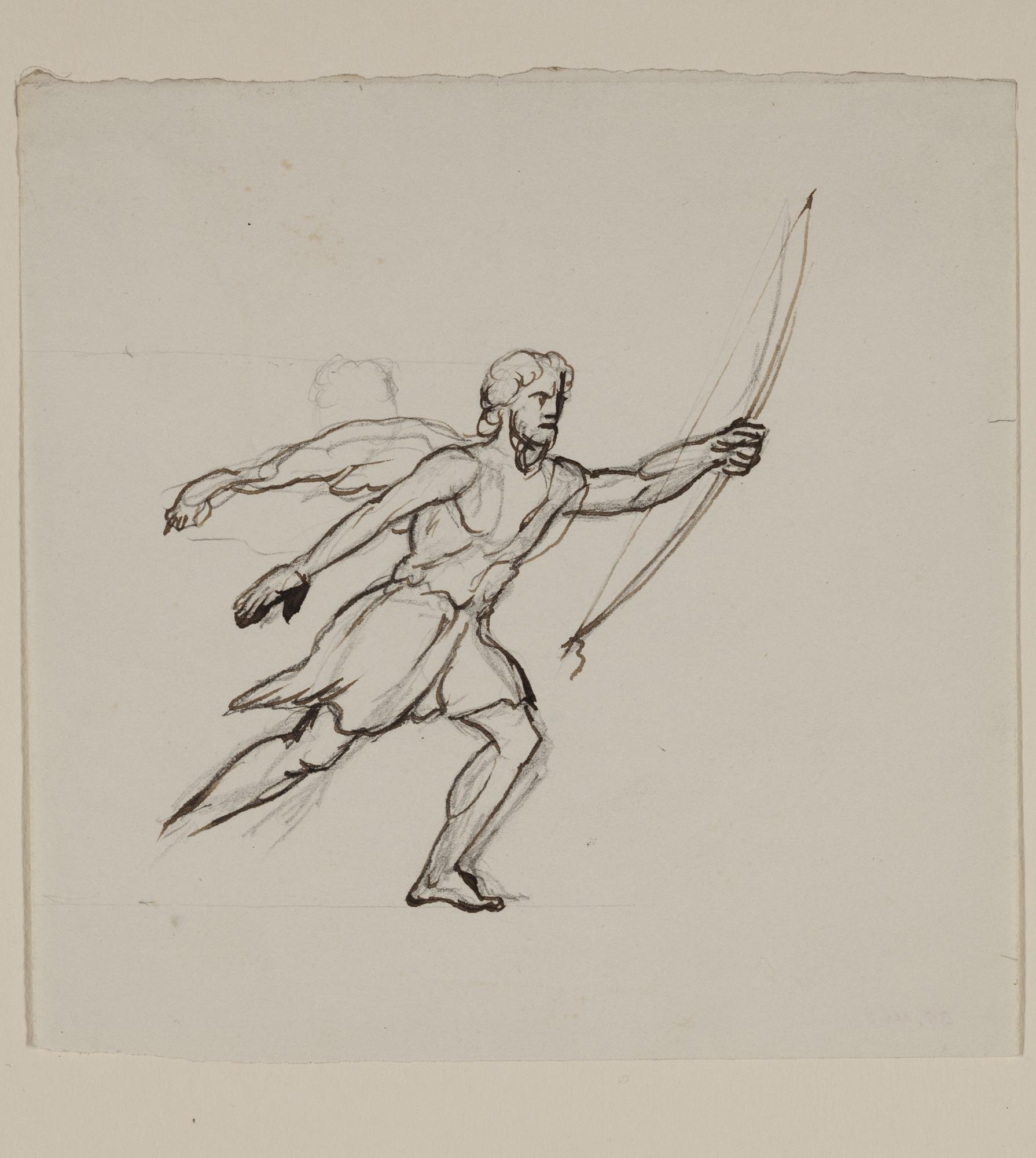 1790x2000 Bearded Running Figure Detroit Institute Of Arts Museum