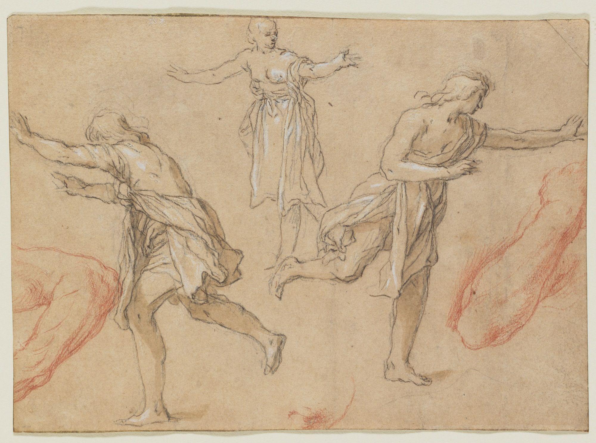2000x1486 Studies Of Running Figures Drawings Art Museum