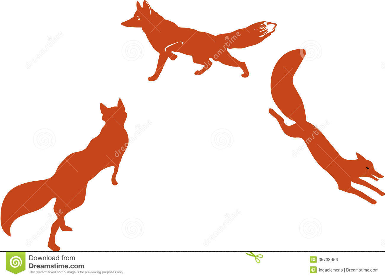 1300x940 Red Fox Sillouet Stencils 3 Red Fox, Foxes And Fox