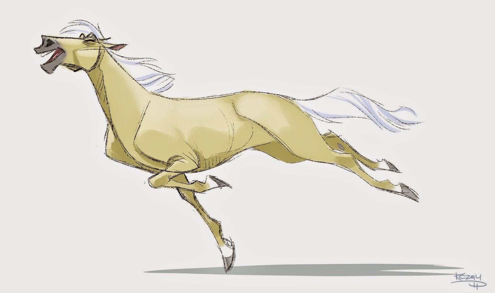 1600x947 The Polarkeet Den Running Horse