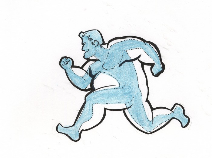 700x524 56maslinaaa Cartoon Fat Person Running