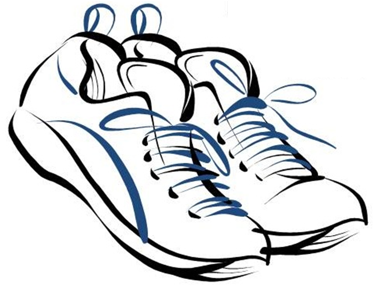 Running Shoes Drawing at GetDrawingscom Free for personal use