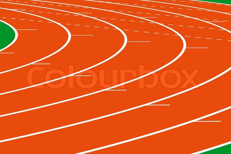 800x533 Photo Or Drawing Of A Running Track For Sports Stock Photo