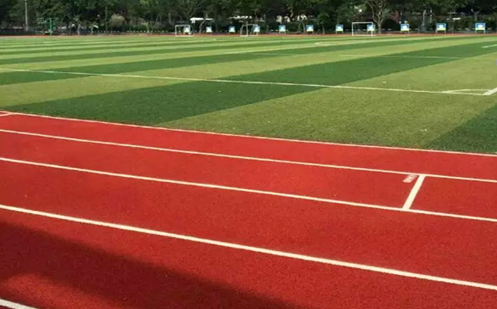 706x439 Spray Coat System Running Track (Permeable) Guangzhou Disen Sports