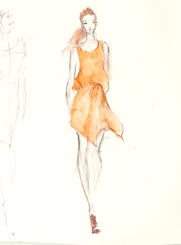 600x812 Dress Drawing Fashion Drawing Dress Drawing