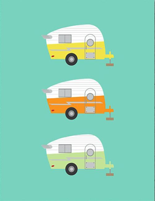 500x650 21 Beautiful Camper Trailer Drawing