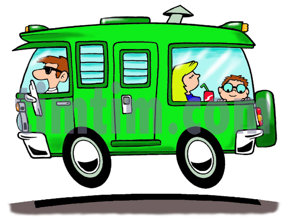 575x442 Free Drawing Of A Camper RV From The Category Cars Trucks Buses