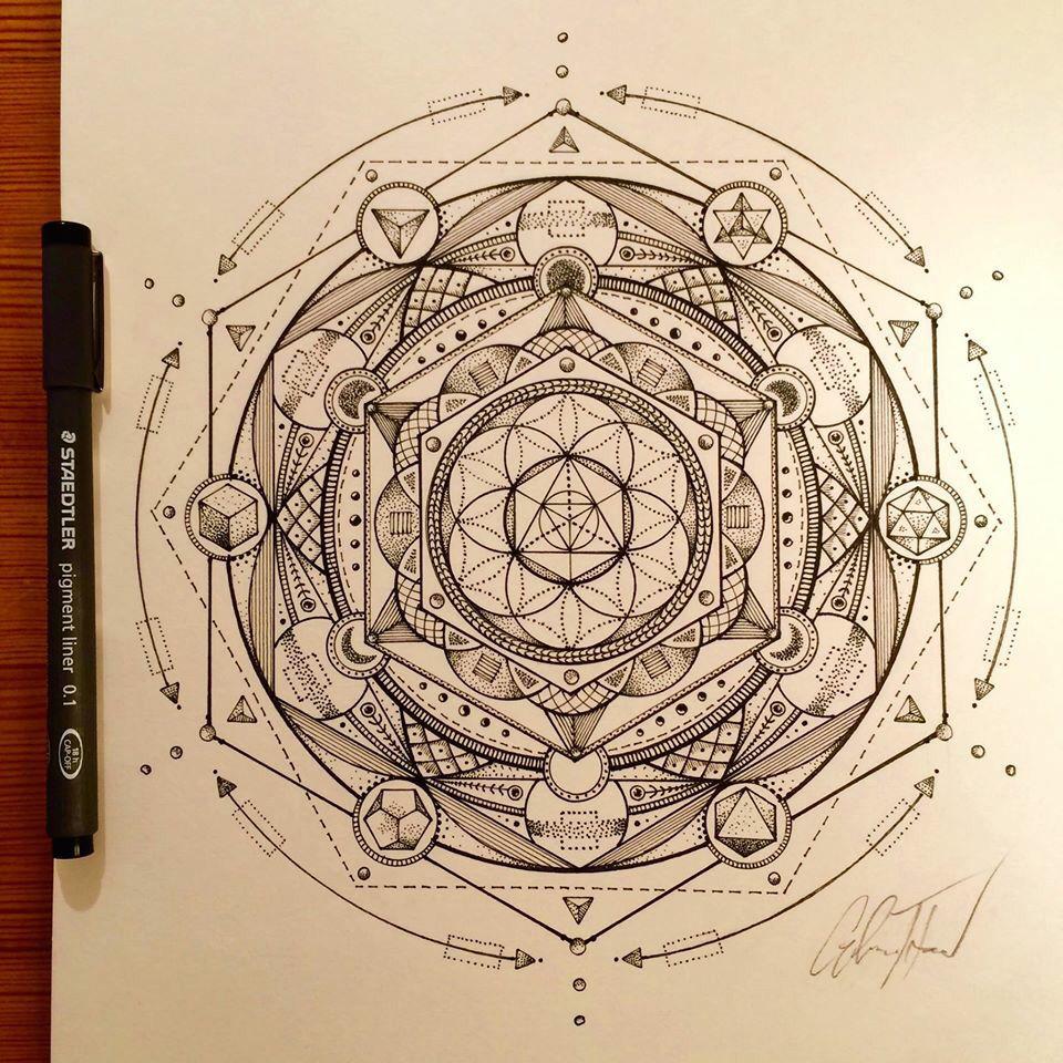 960x960 Glenn Thomson Sacred Geometry And Mandalas Tattoo