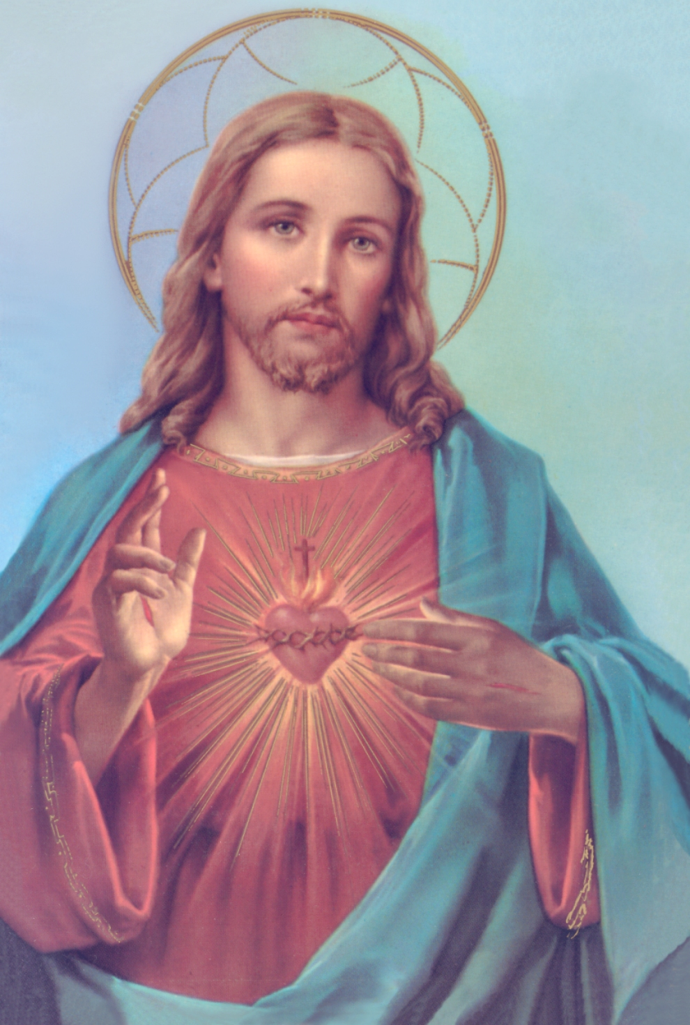 Sacred Heart Of Jesus Drawing at GetDrawings.com | Free for personal ...