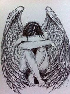 236x316 Crying Angel Drawing In Pencil Animasyon Angel