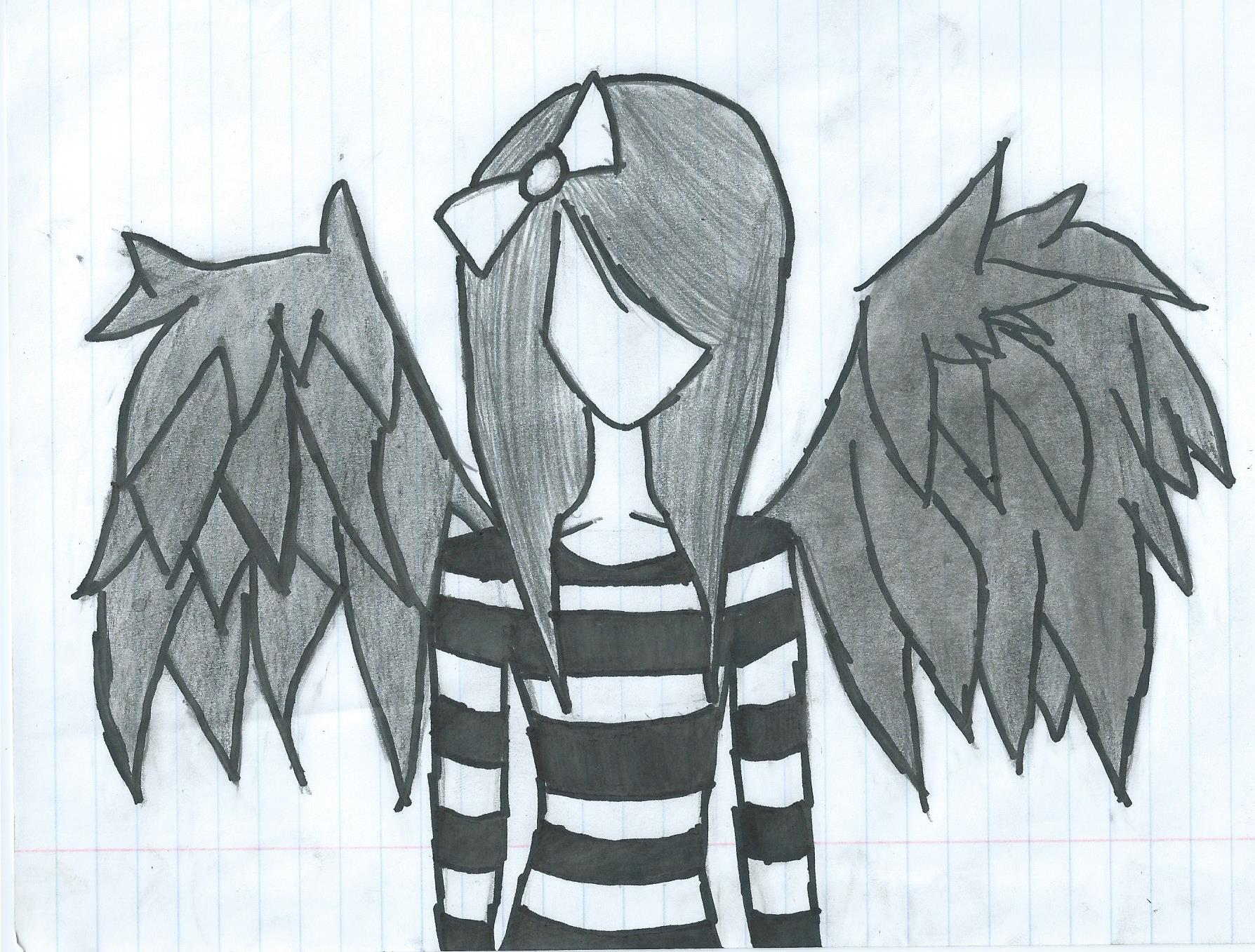 1788x1357 Gallery Sad Angels Drawing Step By Step,