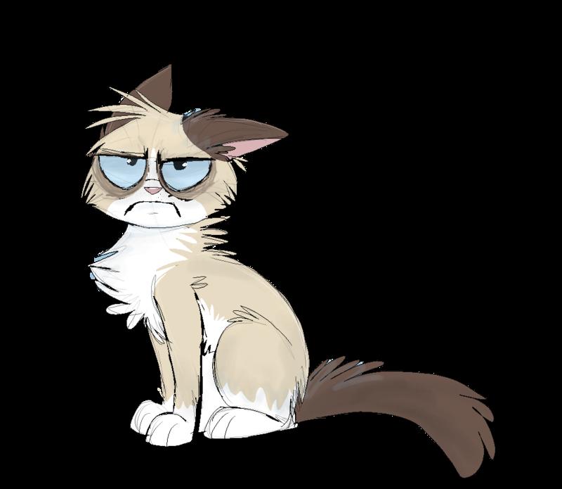 800x695 Grumpy Cat By On @ Grumpy Cat