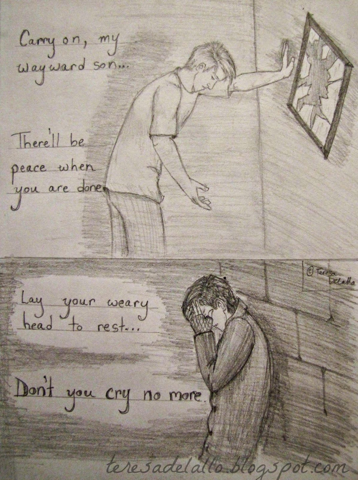 Sad Drawings That Will Make You Cry