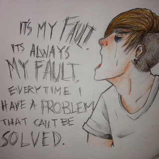 320x320 Pictures Sad Emo Drawings,