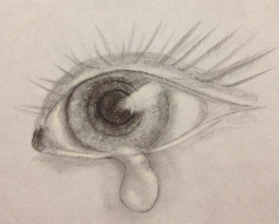sad eye drawing at getdrawings com free for personal use sad eye