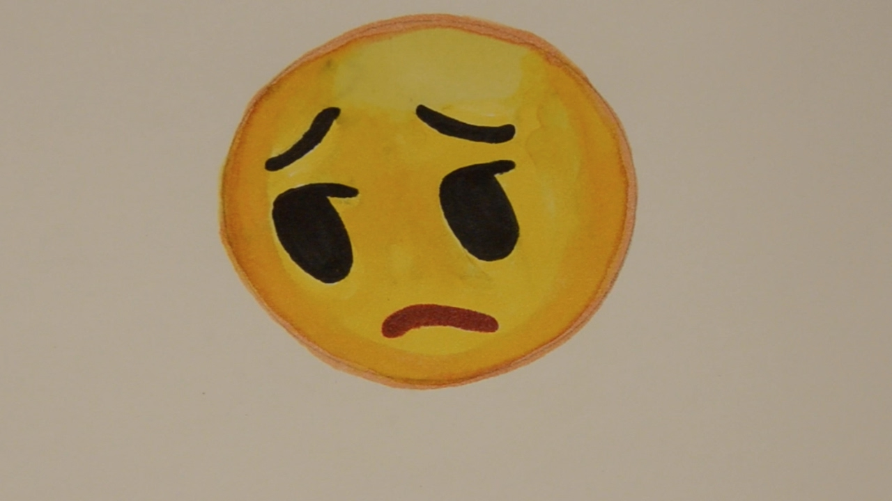 Line Drawing Of Sad Face : Sad face drawing at getdrawings free for personal use