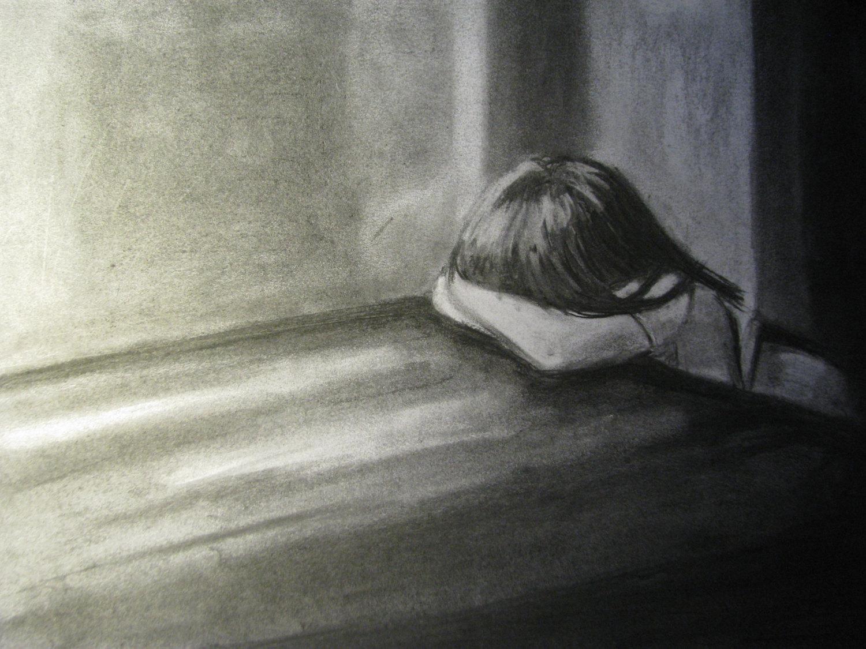 نتیجه تصویری برای sad girl pinterest
