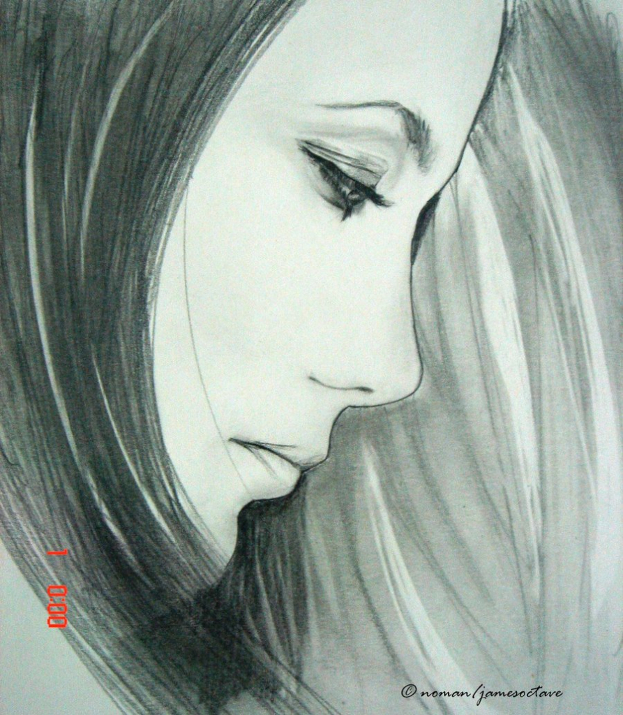 893x1024 Sad Face Pencil Drawings