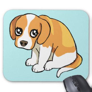 324x324 Sad Puppy Dog Mouse Pads Zazzle