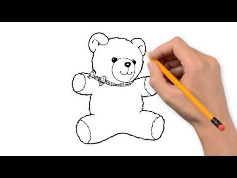 480x360 Teddy Bear Things Pencil To Draw Step By Step