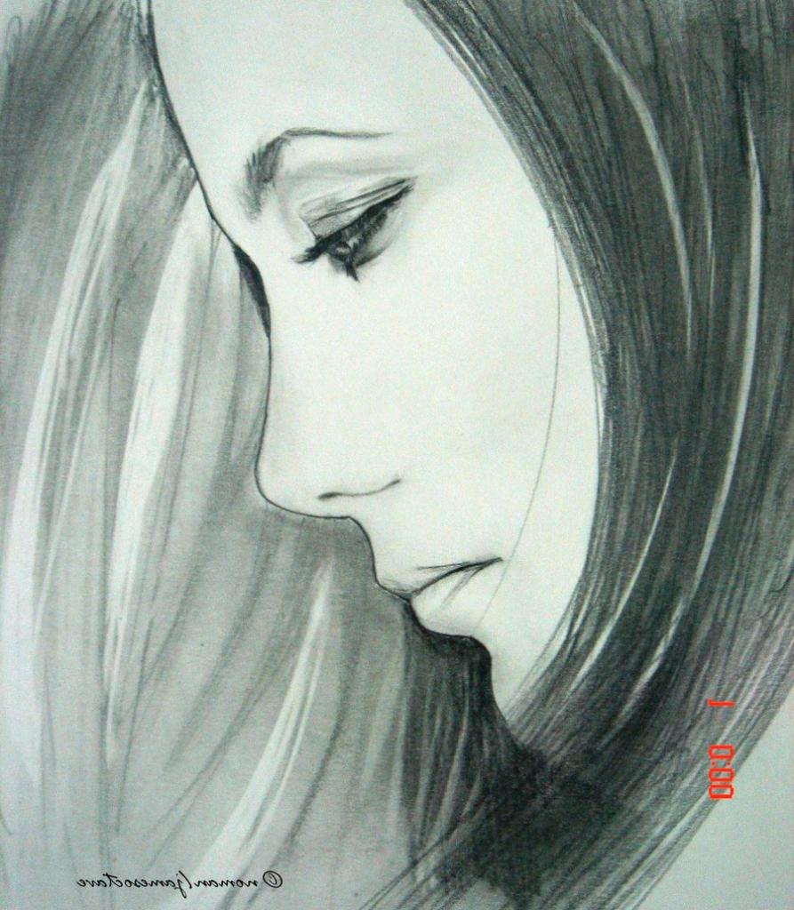 893x1024 beautiful pencil sketches of sad girl sad woman face sketch