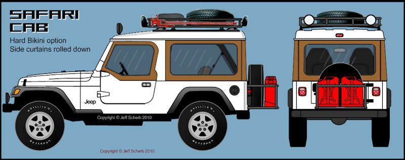 800x316 Safari Cab Custom Hardtop Project