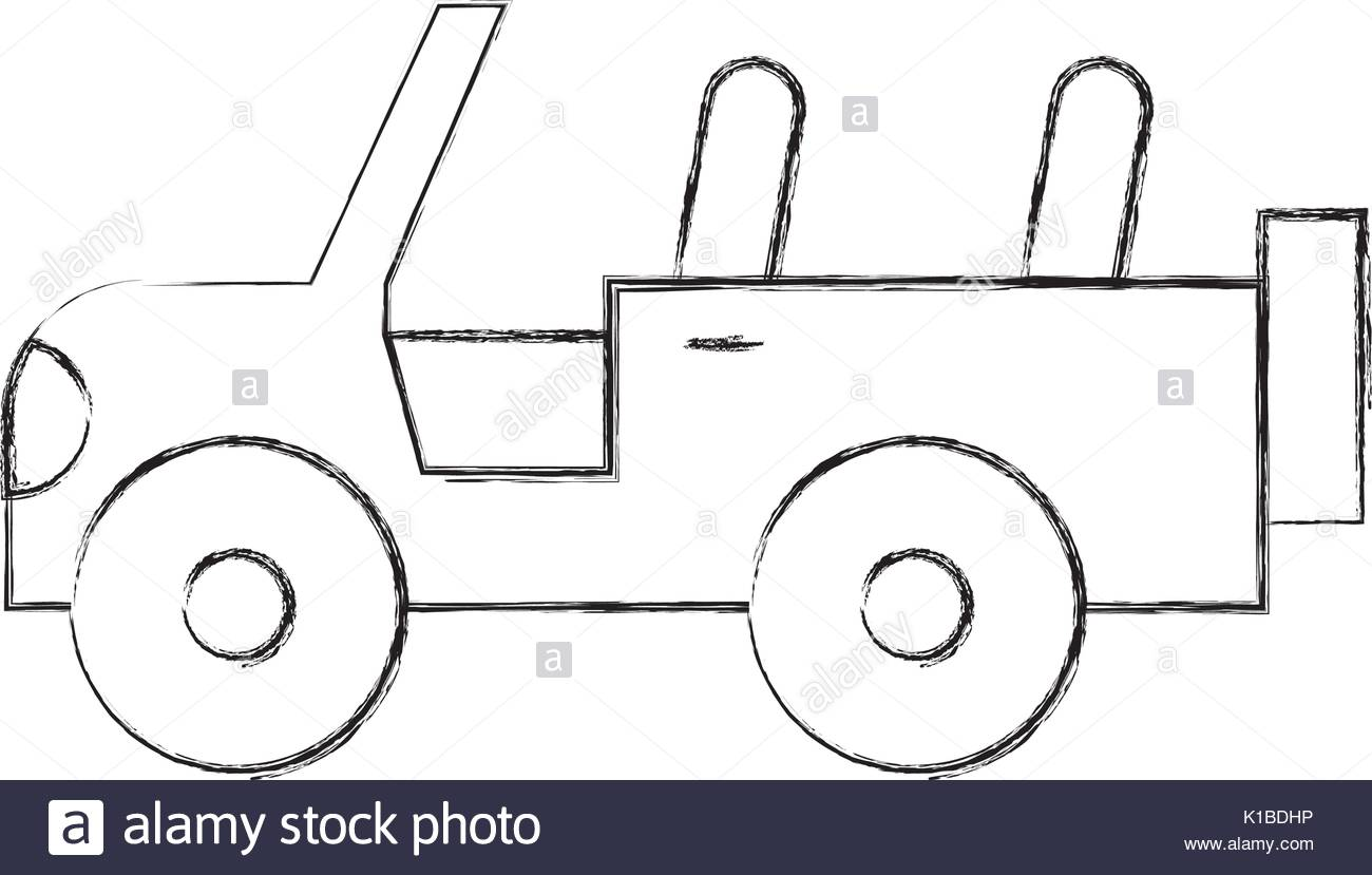 Safari Jeep Drawing at GetDrawings.com | Free for personal use ...