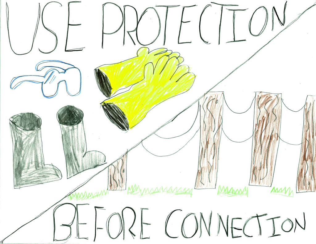 1024x791 Bge Children Safety Drawing 25 Safety On The Job And Off