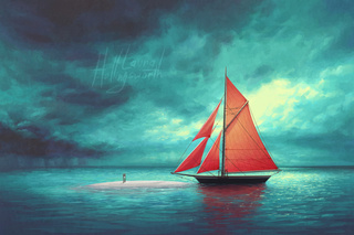 320x213 Sailboat Drawings On Paigeeworld. Pictures Of Sailboat