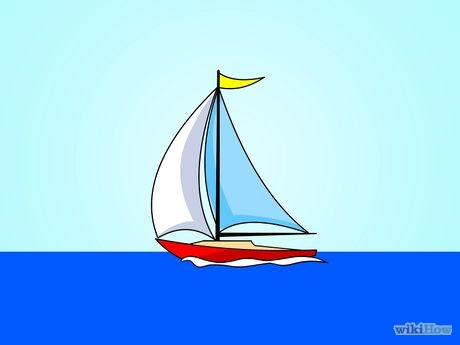 460x345 Draw A Sailboat Sketches And Drawings