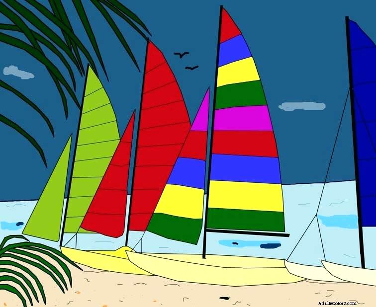 756x618 Pictures Of Sailboats To Color Pictures Of Sailboats To Color