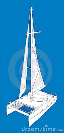 216x450 The Beautiful Open Ocean 750 Sailing Catamaran,