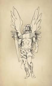 174x289 St Michael Drawing