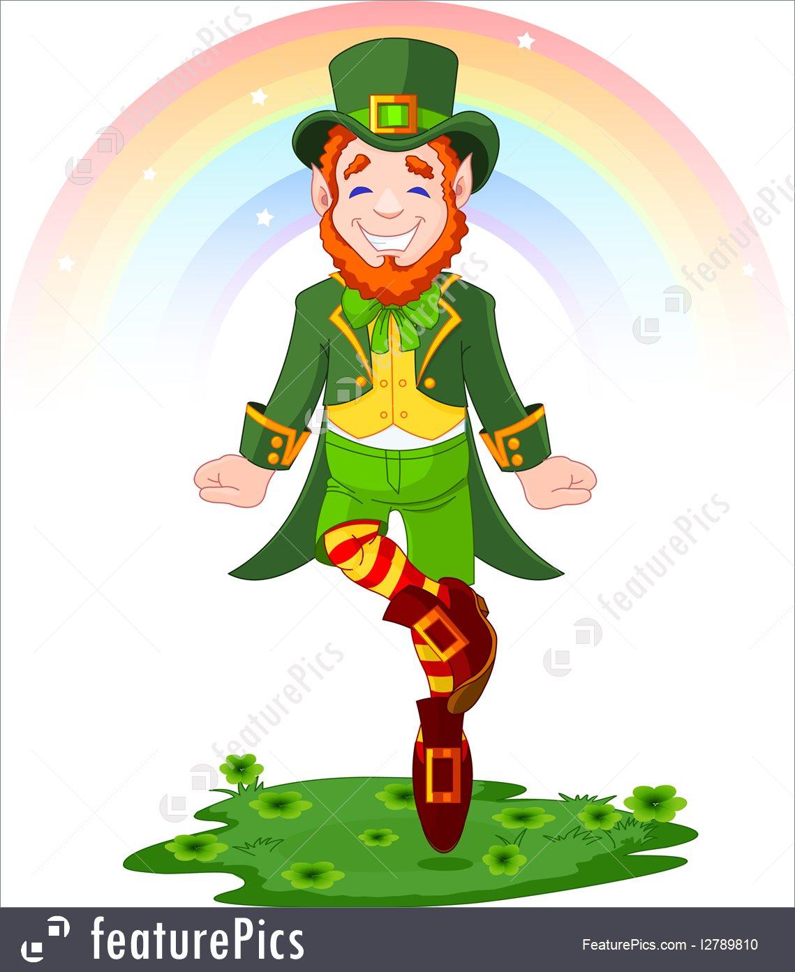 1139x1392 Holidays St. Patrick's Day Lucky Dancing Leprechaun