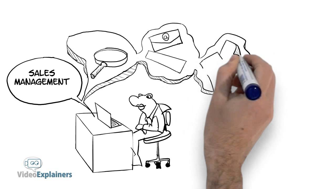 1280x720 Fast Hand Drawing Video Animation For Sales Letter