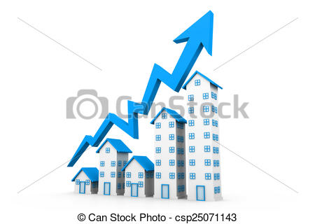 450x320 Growing Home Sales Drawing