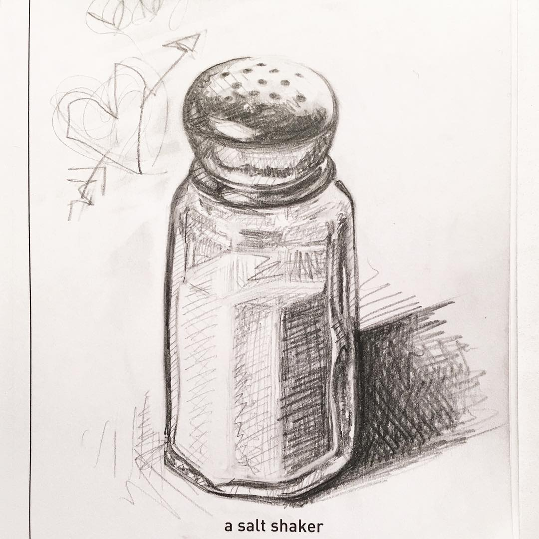 1080x1080 A Salt Shaker 642 Things To Draw Inspiration Tattoo