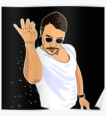 210x230 Salt Bae Drawing Posters Redbubble