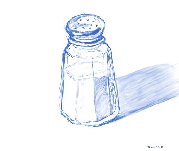 600x506 Salt Shaker 10,000 Bad Drawings