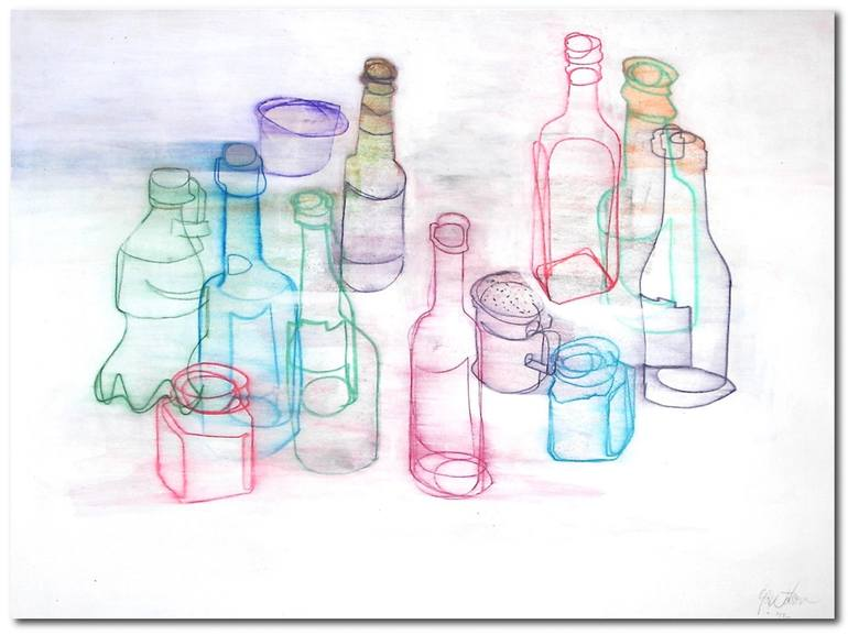 770x577 Saatchi Art Still Life With Salt Shaker Drawing By Glenn Watson