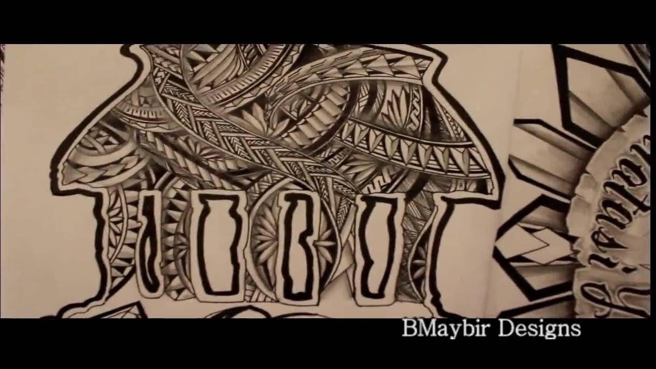 1280x720 Samoan Faleo#39o Design (Ben Maybir Tattoos)