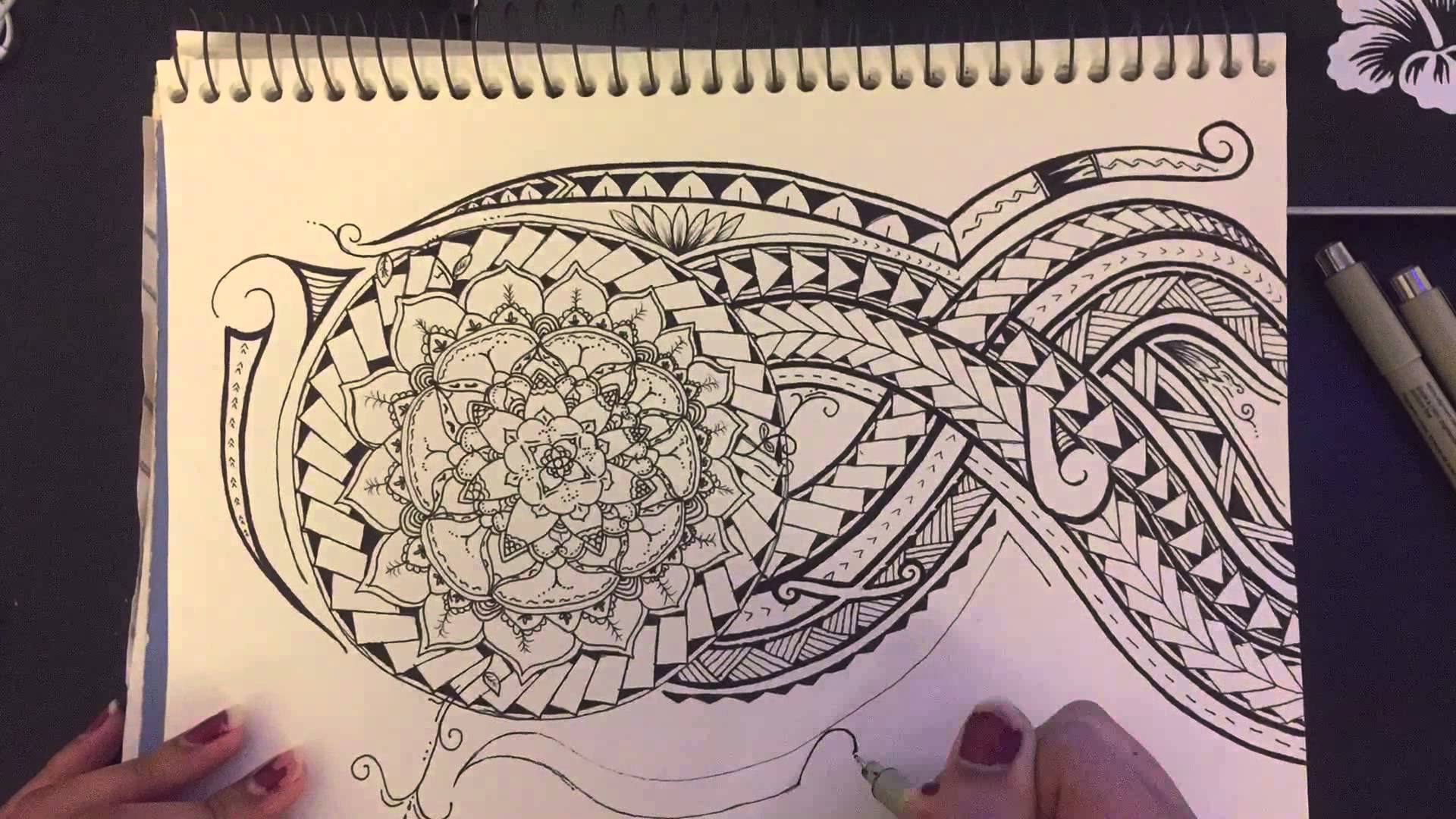 1920x1080 Time Lapse Drawing