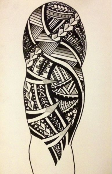 386x600 Samoan Tattoo Tumblr
