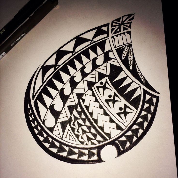 Samoan Tribal Drawing At Getdrawings Com Free For Personal Use